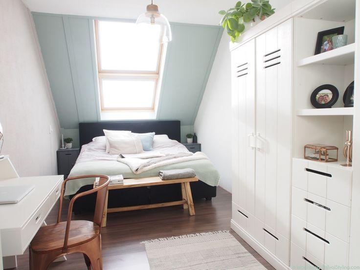 Slaapkamer Ideeen Taupe : Slaapkamer taupe kleuren early dew urban van ...