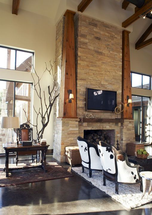 17 Best Images About Cowhide Chairs On Pinterest