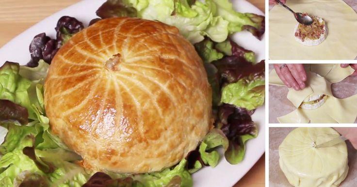 Máte radi Camembert? Tento druh syra je veľmi lahodný aj sám o sebe, avšak so správnou prípravou a ďalšími chutnými surovinami, môže vytvoriť jedno fantastické jedlo. Vyskúšajte jednoduchý recept na Camembert pečený v lístkovom cestíčku so slaninkou a zemiakmi. Výsledok si zamilujete!