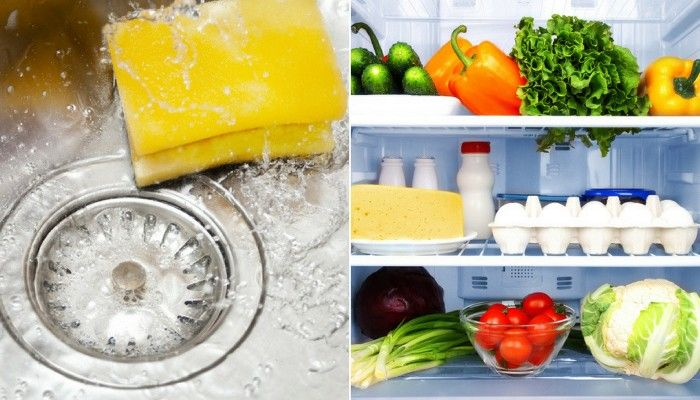 The kitchen countertops may be sparkling, but how often do we forget about the bacteria that can lurk in other parts of our kitchen? Tucker Shaw has tips for keeping sponges, sinks and refrigerator temperatures safe and sanitary.