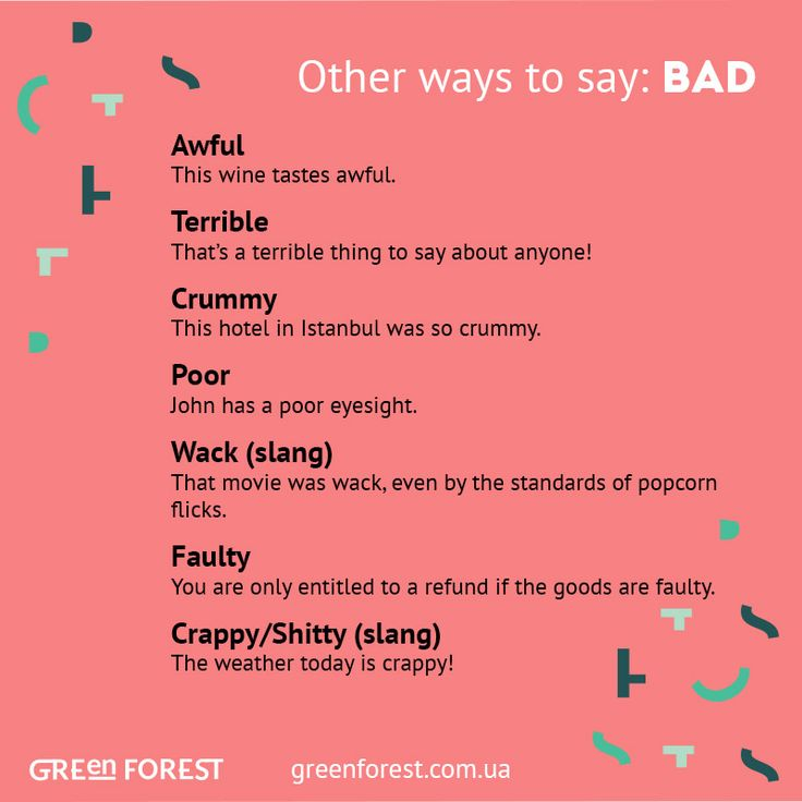 47 Best images about Other Ways To Say (Synonyms for the ...