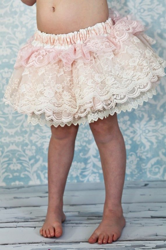 Little lace skirt.