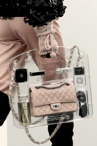 Chanel PVC Bag   via: styleforstyle.it