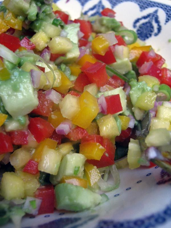 pineapple avocado salsa recipe