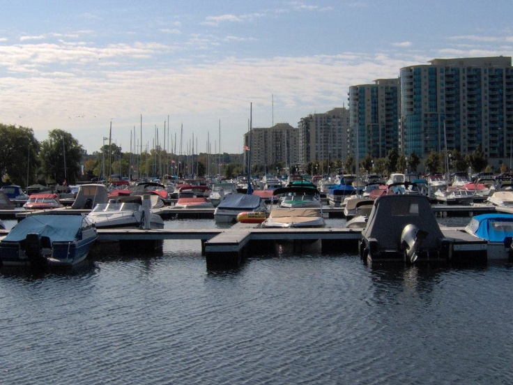 Marina in Barrie Ontario