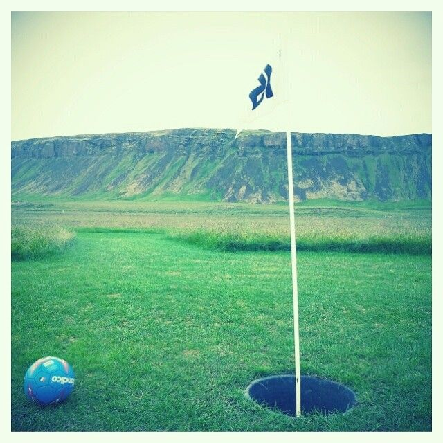 Foot-golf in Iceland