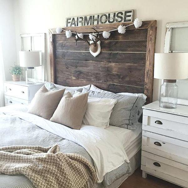 41 Beautiful Farmhouse Style Bedroom Decorating Ideas Farmhouse