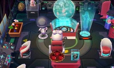 New room! Spaced themed! Inspiration from Pikmin 3 :D
