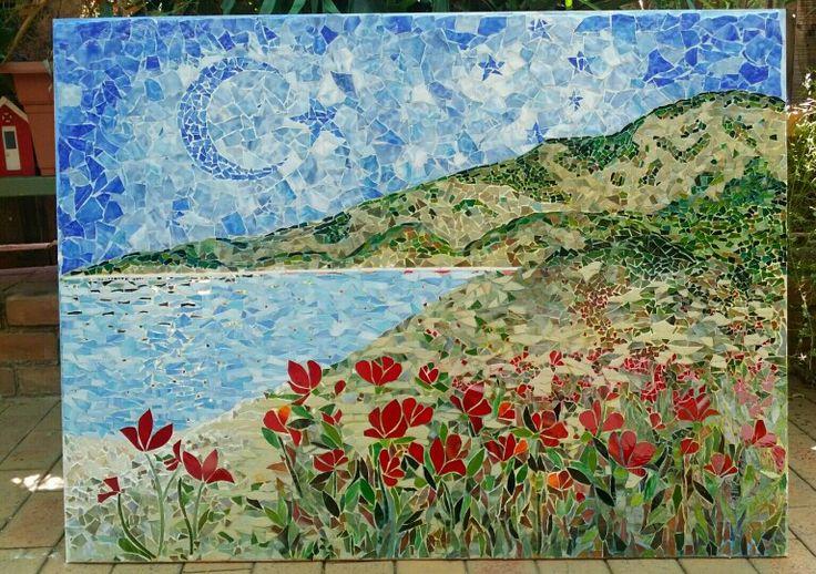 Anzac Cove memorial mosaic