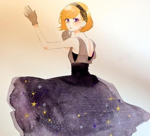 Clothing study. Expression study. Hair study. - hirunaka no ryuusei Nekota Yuyuka daytime shooting star ひるなかの流星 #HnR