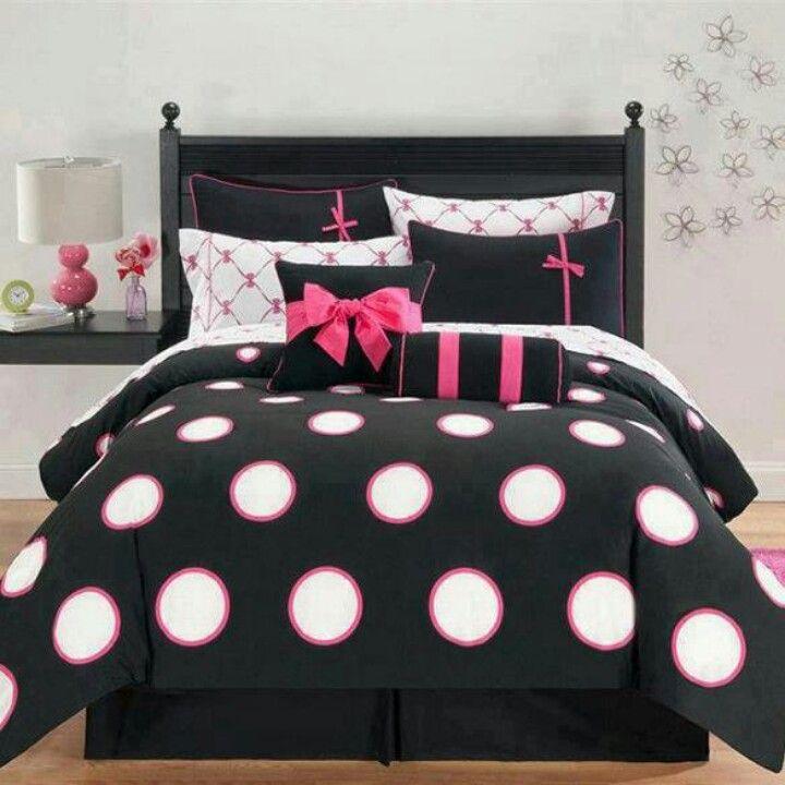 Girls bedroom idea tots cute bed spread