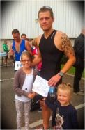 Donated to Luke Burton for his silly idea of doing the Pembrokeshire Iron Man.  Good Luck....