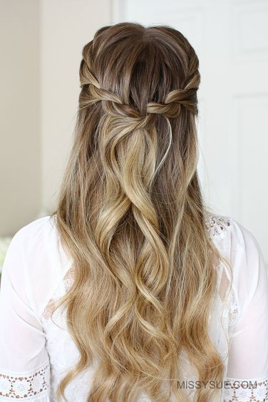 #easyhairstyles #prettyhairstyles #cutehairstyles #braids #blonde Haare -