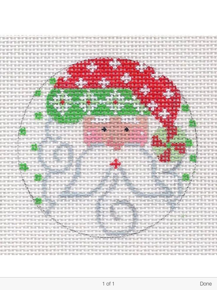 Cross Stitch Christmas Decorations