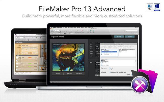 FileMaker Pro 13 Advanced 13.0.1.194
