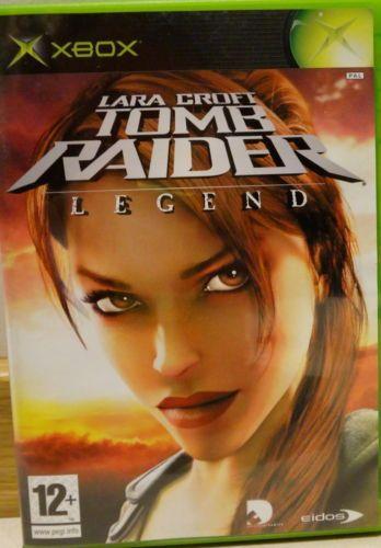 Lara Croft Tomb Raider Legend Microsoft Xbox 5021290023826 | eBay