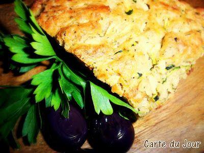 Carte du jour: Savory Zucchini Bread (Kabakli Ekmek)