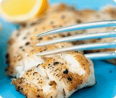 High Flavor, Low Calorie HCG Recipes: Lemon Tilapia-Phase 2