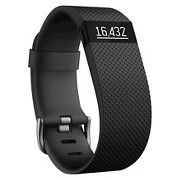 Fitbit Charge HR Heart Rate and Activity Tracker & Sleep Wristband Small - Black (FB405BKST)