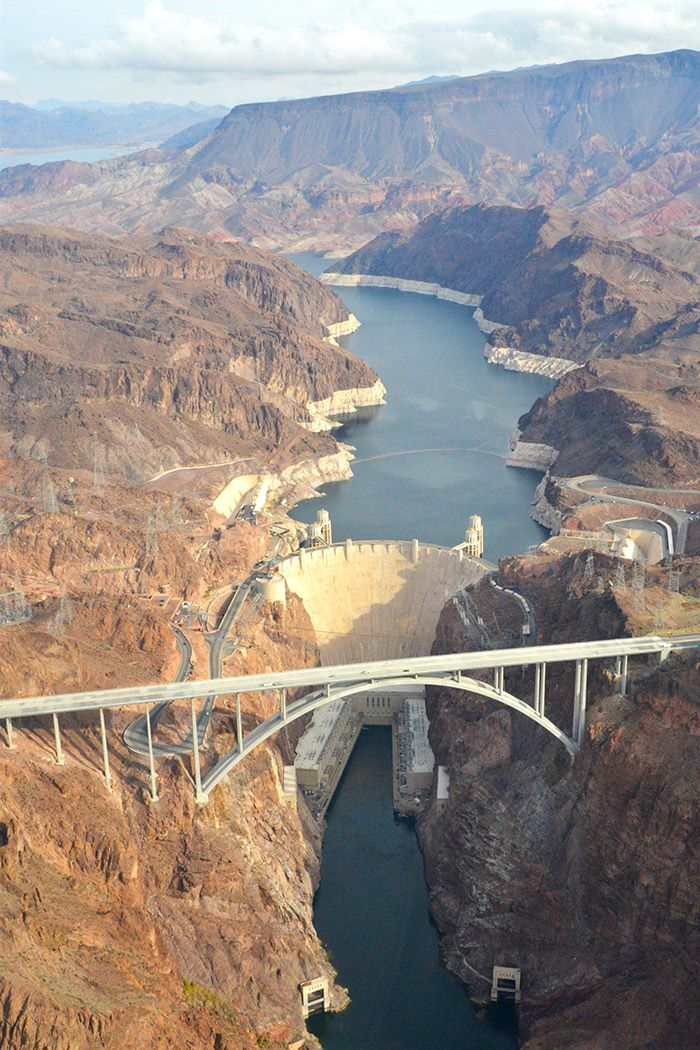 The Hoover Dam, Las Vegas