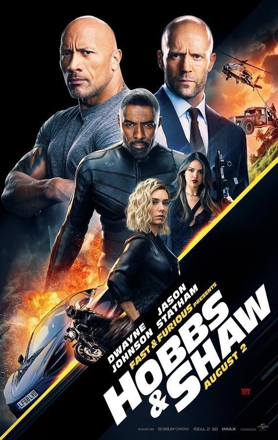 Fast Furious Hobbs Shaw Movie Poster Print Photo Johnson Statham Elba Kirby Sizes 8x10 11x17 16x20 22x28 24x36 27x40 1 Movie Fast And Furious Fast And Furious Full Movies Online Free
