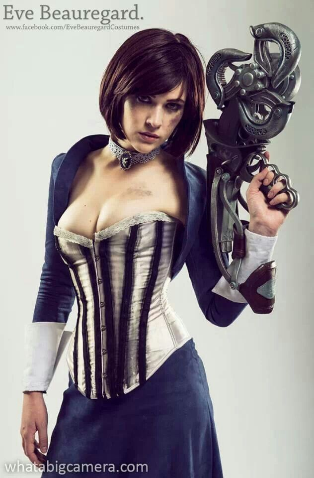 Elizabeth from Bioshock: Infinite Cosplayed by Eve Beauregard Photographer: Whatabigcamera