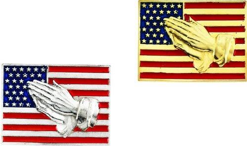 yellow white flag