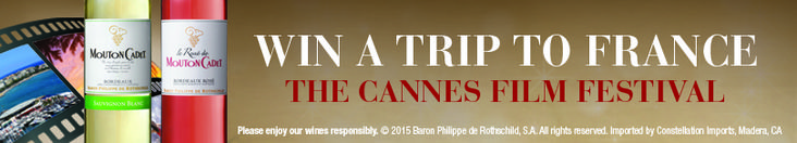 I just entered the Mouton Cadet Cannes Film Festival Sweepstakes for a chance to win a trip for 2 to France to attend the Cannes Film Festival! Make sure you enter too!