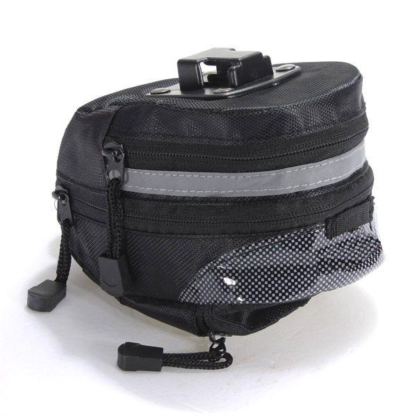 Buon affare Portatile Bici di Riciclaggio Della Bicicletta Saddle Pouch Bag Posteriore del Rack Tail Sedile Posteriore di Immagazzinaggio