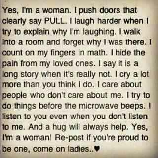 Very true: Thoughts, Life Quotes, Inspiration, Lifequotes, Truths, So True, Be A Woman, Favorite Quotes, True Stories
