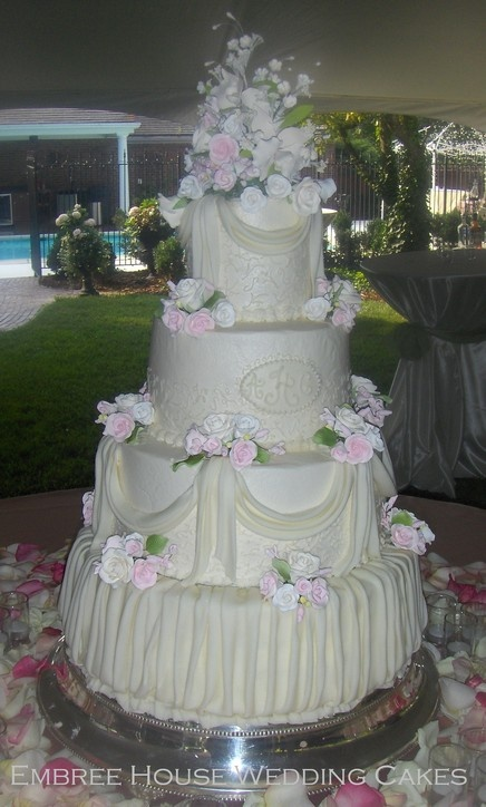 Huge Wedding Cakes | Wedding Cakes in Tennessee. Wedding Cupcakes in TN. Buttercream ...