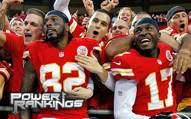 """Is any pro team - good if the Chiefs are first in - the power rankings?""  NFL Power Rankings: If Chiefs are on top, are any teams any good?"