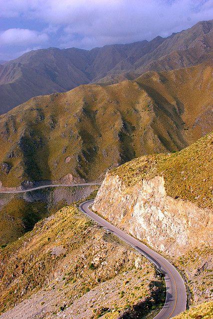 Ruta 5, Sierra de Comechingones, Merlo, Provincia de San Luis, Argentina