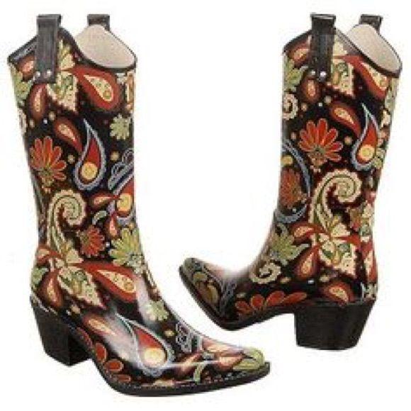 17 Best ideas about Cowboy Rain Boots on Pinterest | Spring door ...