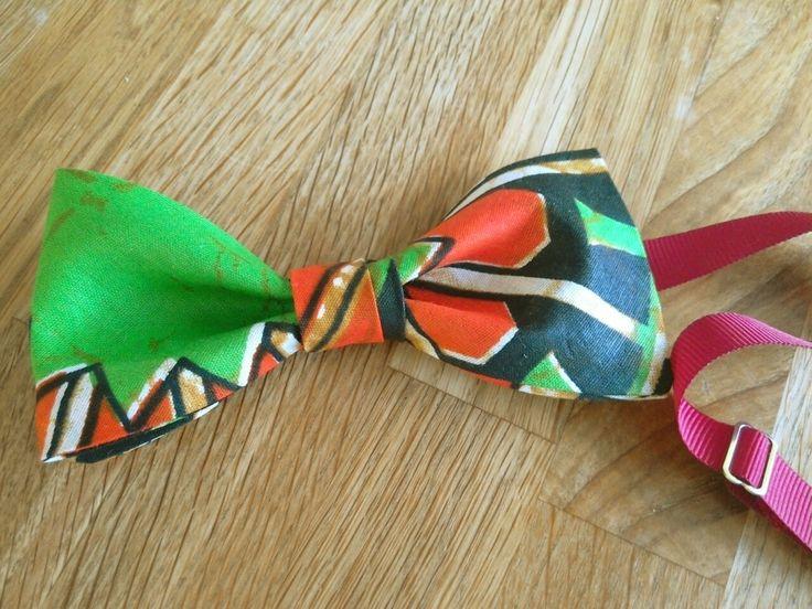 Cotton print Bowtie #colourful #bowtie #print #africanprint #handmade