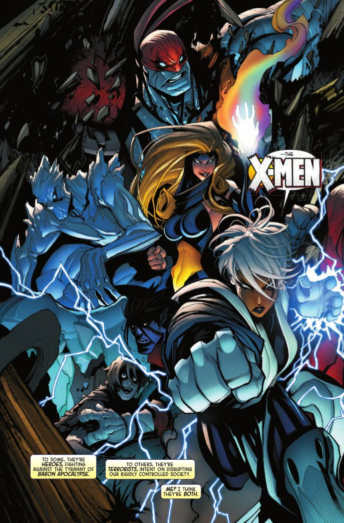Deaths, Surprises & Character Revamp Promised In AGE OF APOCALYPSE | Newsarama.com