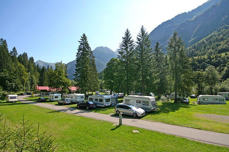 Camping Vorderboden - Nr.1 für Camping im Kleinwalsertal