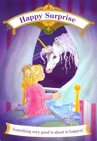 Newsletter 2013.03.08 -  Interpretation by Margi of Magical Unicorns Oracle Cards by Doreen Virtue
