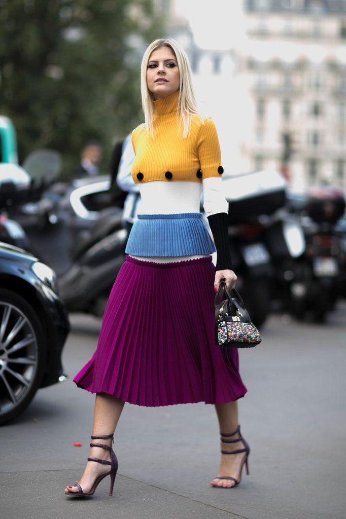 Street Style Pictures From Paris Fashion Week Spring 2017 | POPSUGAR Fashion Australia