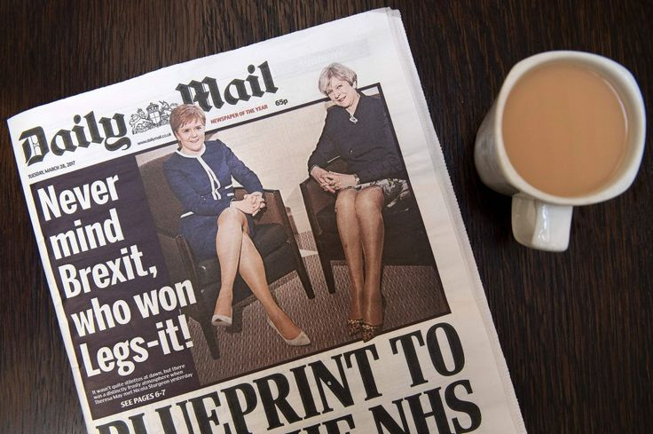 From Brexit to 'Legs-it': Daily Mail disgusts Britain with 'sexist' front page