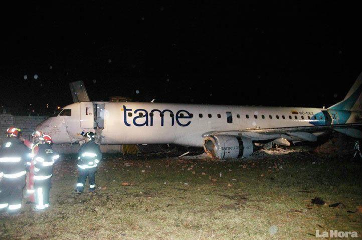 2011 Nightmare:Tame Air Mishap At Quito