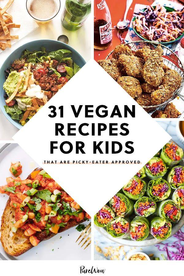 31 Vegan Recipes For Kids That Are Picky Eater Approved In 2020 Vegan Kids Recipes Vegan Family Dinner Picky Eater Recipes