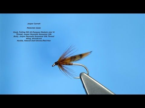 Tying the Jasper Carrott Soft Hackle/Wet Fly by Davie McPhail - YouTube