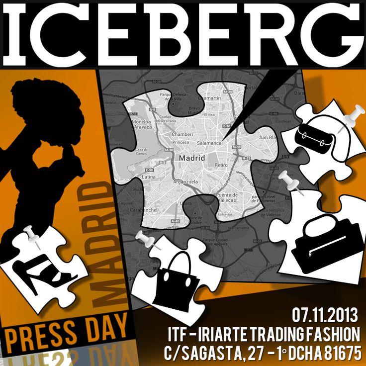 Iceberg Press Day SS14 - Madrid
