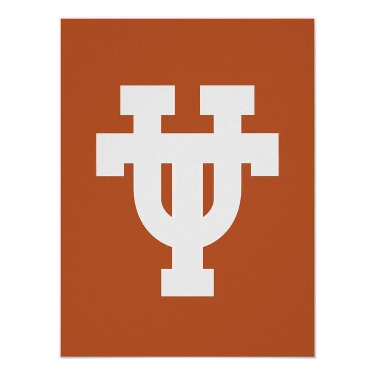 The University Of Texas Ut Poster Zazzle Com In 2021 University Of Texas Ut Austin Texas