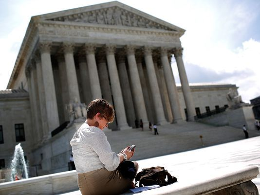 Privacy Rights Victory - Supreme Court limits police searches of cellphones  #SupremeCourtRulings