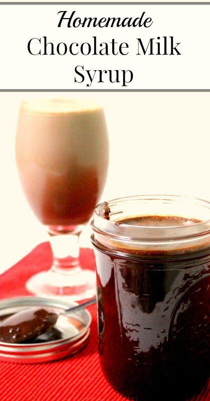 Homemade Chocolate Milk Syrup  {No refined sugar, four simple ingredients, Real Food, Primal, Vegetarian}