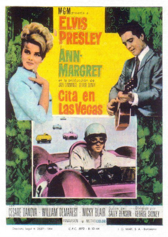 """Cita en Las Vegas (1964) """"Viva Las Vegas"""" de George Sidney - tt0058725"""