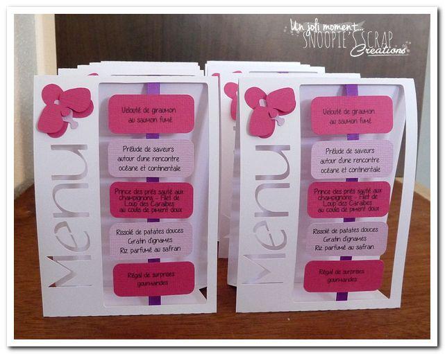 Les 25 meilleures id es de la cat gorie orchid es roses for Idee menu anniversaire de mariage