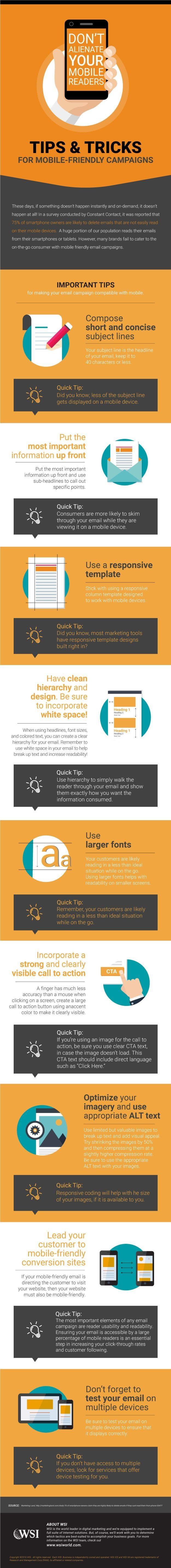 Don't Alienate Your Mobile Readers - #infographic